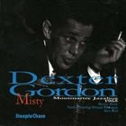DEXTER GORDON Misty (Live at Jazzhus Montmartre in Copenhagen, on July 8, 1965) album cover