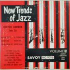 DEXTER GORDON New Trends Of Jazz - Volume 3 album cover