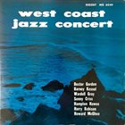 DEXTER GORDON West Coast Jazz Concert album cover