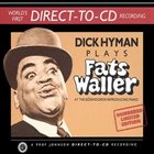 DICK HYMAN Dick Hyman Plays Fats Waller album cover