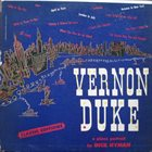DICK HYMAN Vernon Duke - A Piano Portrait By Dick Hyman album cover