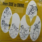 DICK WELLSTOOD From Dixie To Swing: Music Minus One Piano album cover