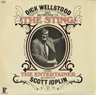 DICK WELLSTOOD Plays The Sting & The Entertainer album cover