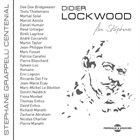 DIDIER LOCKWOOD For Stéphane album cover