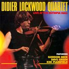 DIDIER LOCKWOOD Live At The Olympia Hall album cover