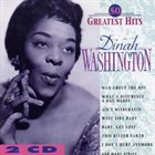 DINAH WASHINGTON 50 Greatest Hits album cover