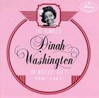 DINAH WASHINGTON Complete Dinah Washington on Mercury, Volume 1 (1946-1949) album cover