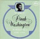DINAH WASHINGTON Complete Dinah Washington on Mercury, Volume 2 (1950-1952) album cover