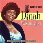 DINAH WASHINGTON Dinah Washington: Greatest Hits album cover