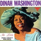 DINAH WASHINGTON In Love album cover