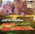 DINAH WASHINGTON Tell Love Hello album cover