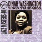 DINAH WASHINGTON Verve Jazz Masters 40: Dinah Washington Sings Standards album cover