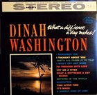 DINAH WASHINGTON What a Diff'rence a Day Makes! album cover