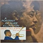 DIZZY GILLESPIE A Portrait of Duke Ellington album cover