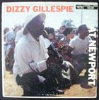 DIZZY GILLESPIE At Newport album cover