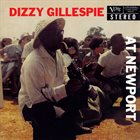 DIZZY GILLESPIE At Newport (50th anniversary edition) album cover