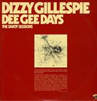 DIZZY GILLESPIE Dee Gee Days album cover