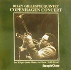 DIZZY GILLESPIE Dizzy Gillespie Quintet in Copenhagen Concert 1959 album cover