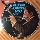 DIZZY GILLESPIE Gillespie Concert N.1 1950 album cover