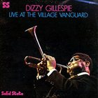 DIZZY GILLESPIE Live At The Village Vanguard album cover