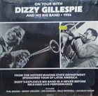 DIZZY GILLESPIE On Tour With Dizzy Gillespie And His Big Band 1956 album cover