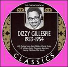 DIZZY GILLESPIE The Chronological Classics: Dizzy Gillespie 1953-1954 album cover