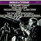 DIZZY GILLESPIE The Trumpet Summit Meets The Oscar Peterson Big 4 album cover
