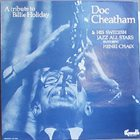 DOC CHEATHAM A tribute to billie holiday album cover