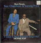 DOC CHEATHAM Doc Cheatham & Sammy Price ‎: Black Beauty album cover