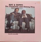 DOC CHEATHAM Doc Cheatham and Sammy Price : Doc & Sammy album cover