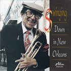 DOC CHEATHAM Swinging Down In New Orleans album cover