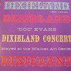 DOC EVANS Dixieland Concert album cover
