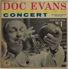 DOC EVANS Dixieland Concert Vol 1 album cover