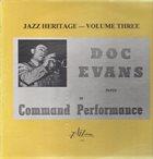 DOC EVANS Jazz Heritage - Volume Three album cover