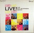 DOC SEVERINSEN Live! album cover