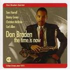 DON BRADEN The Time Is Now album cover