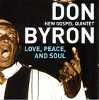 DON BYRON Love, Peace, And Soul album cover