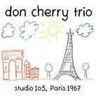 DON CHERRY Studio 105, Paris 1967 album cover