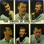 DON ELLIOTT The Voices Of Don Elliott album cover