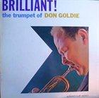 DON GOLDIE Brilliant! album cover