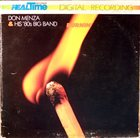 DON MENZA Burnin' album cover