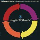 DON PATTERSON Boppin' & Burnin' album cover
