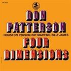 DON PATTERSON Four Dimensions (aka Embraceable You) album cover