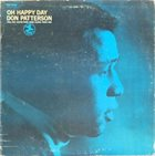 DON PATTERSON Oh Happy Day album cover