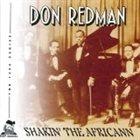 DON REDMAN Shakin' the Africann album cover
