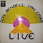 DON RENDELL Live  (as Don Rendell-Ian Carr Quintet) album cover