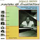 DONALD BROWN Sources Of Inspiration album cover