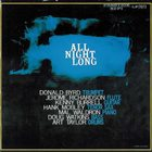 DONALD BYRD All Night Long (with Kenny Burrell) album cover