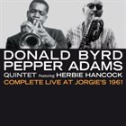 DONALD BYRD Complete Live At Jorgie's 1961 album cover