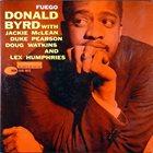 DONALD BYRD Fuego album cover